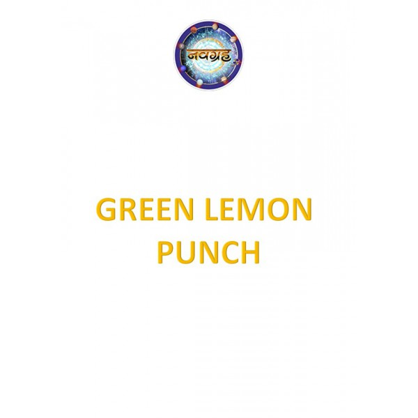 Green Lemon Punch