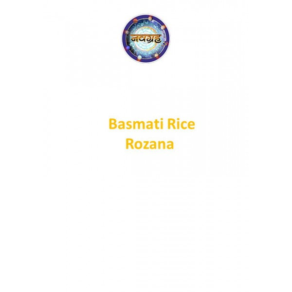Basmati Rice - Rozana