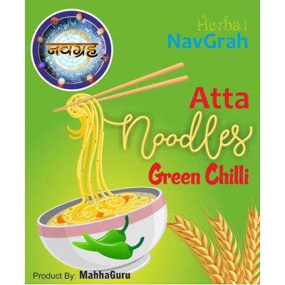 ATTA NOODLES Green Chilli