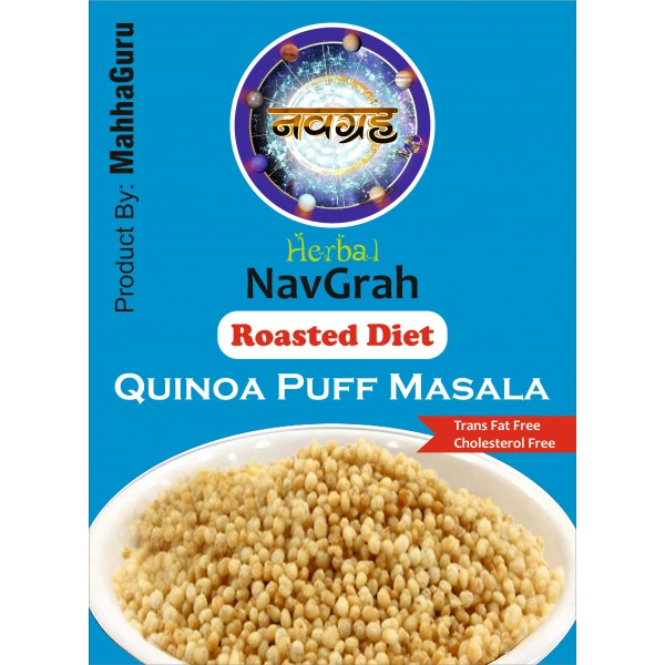 ROASTED DIET QUINOA PUFF MASALA
